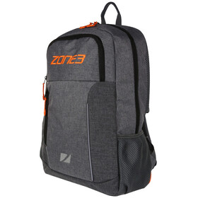 Zone3 Workout Sac à dos Avec compartiments Tri Focusesd, marl grey/orange